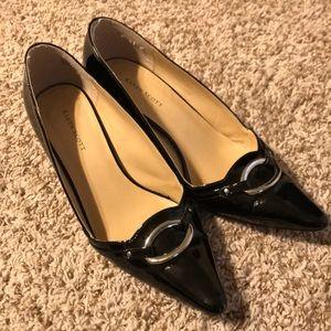 Karen Scott Black Patent Leather Heels
